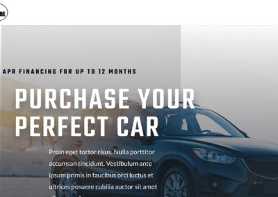 Car Dealer – Landing Page